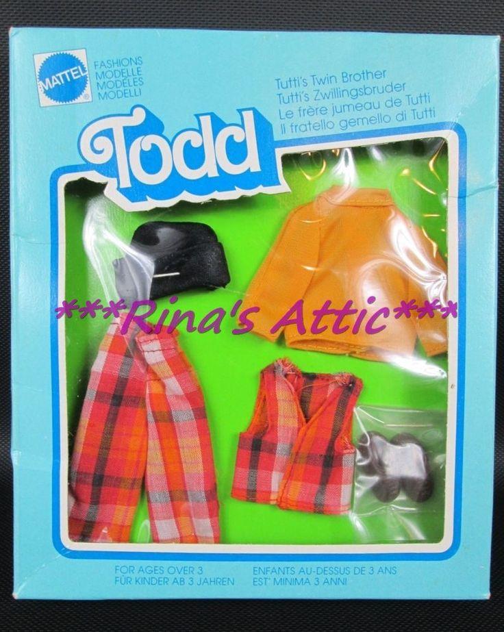 Vintage Tutti Todd KINDERGARTEN Fashion #2656 Foreign Release
