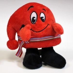 Toutou mascotte Festival du Voyageur cute mascot stuffed toy