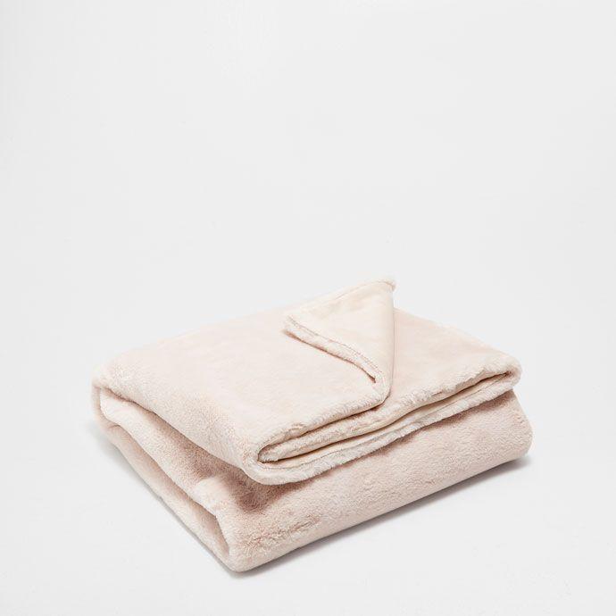 GRIJSBRUINE DEKEN - Dekens - Slaapkamer | Zara Home Holland