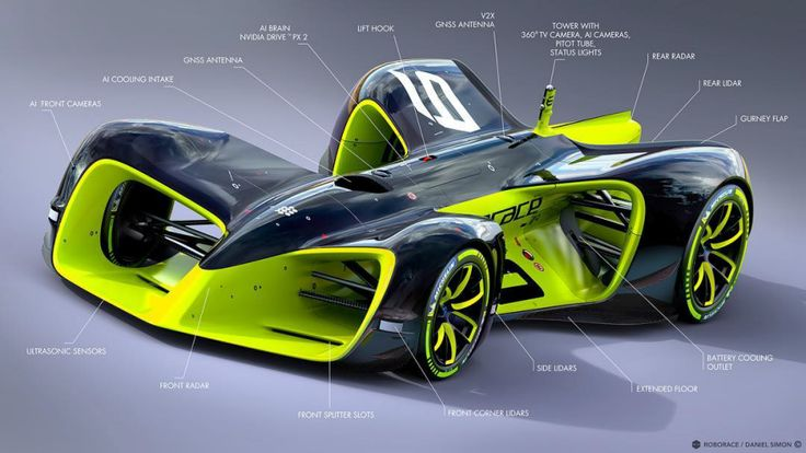 How Designing an Interactive Race Car Could Help Revive Motorsport: A look at the XY Racer Concept by Michael Mills - Core77