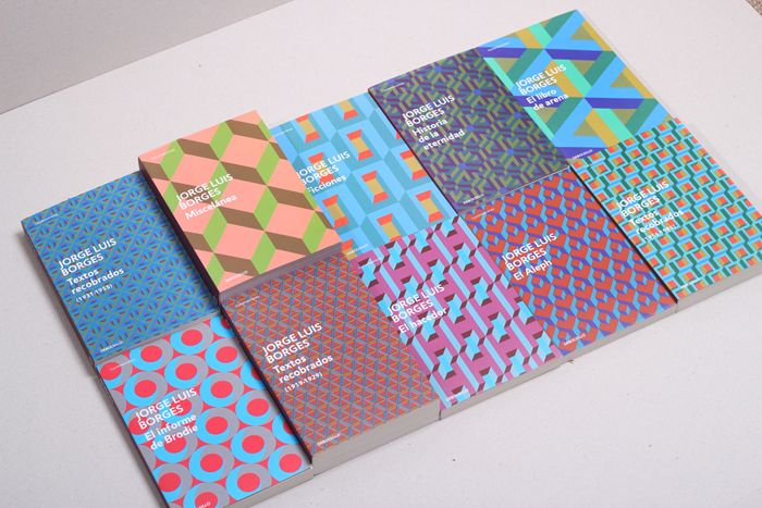 cover collection for the complete works of Borges