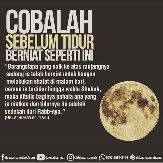 Berdoa dulu supaya bisa bangun malam  . . . Follow @pesantrenyatim Follow @pesantrenyatim . . http://ift.tt/2f12zSN