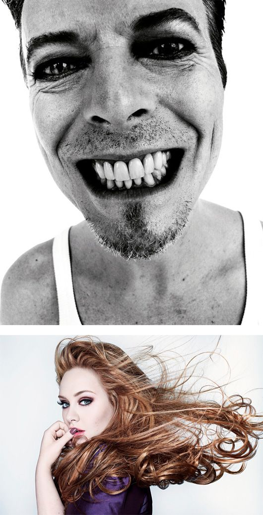 Rankin celebrity portraits johnny