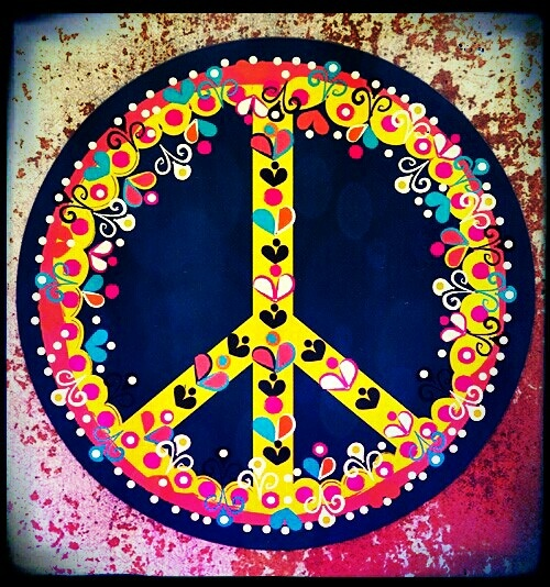 Psychedelic Peace Sign! ☮ | ☮ Art ~ Peace Sign ☮ | Pinterest