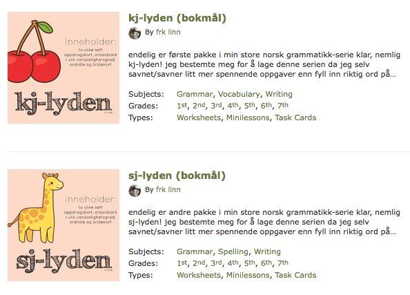 endelig et supermotiverende norskopplegg fra frk