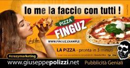 giuseppe Polizzi Io me la faccio con tutti crazymarketing pubblicita geniali #crazymarketing #pizza #giuseppe polizzi #italia #pizzaparty #donna #cibo