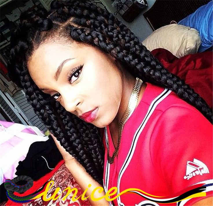 13 best 24 inches box braids hair extension crochet braids havana jumbo braids or pack is suitable for poetic justice braids styles it comes in all hair colors you may desire allowing to mix or match however you like pmusecretfo Image collections