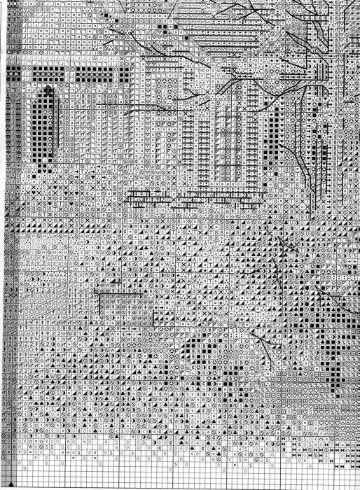 Схема вышивки Викторианский коттедж (Bucilla) 6 из 6