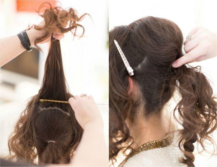 Silvester Frisuren Selber Machen 7 Einfache Anleitungen Fur Langes Haar Anleitun Mit Bildern Frisuren Lange Haare Dutt Flechtfrisur Lange Haare Lange Haare