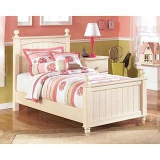 Shop for Signature Design by Ashley Cottage Retreat Cream Poster Bed. Get free shipping at Overstock.com - Your Online Furniture Outlet Store! Get 5% in rewards with Club O!