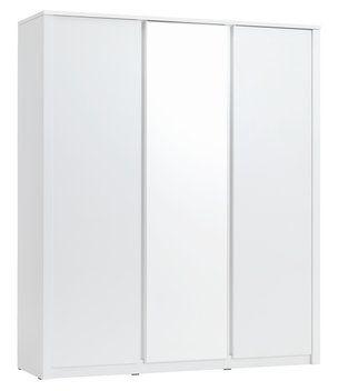 Garderob VEDDE 3 dörrar m/spegel vit