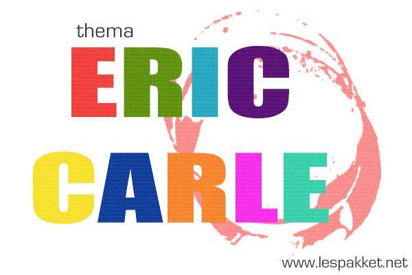 Kies maar één van de boeken van Eric Carle, het is niet moeilijk er leuke lessen bij te bedenken - Lespakket