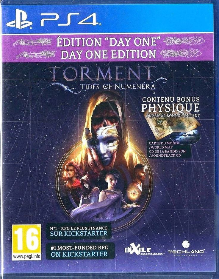 Playstation 4 Torment: Tides of Numenera (Day One Edition) (PS4) BRAND NEW