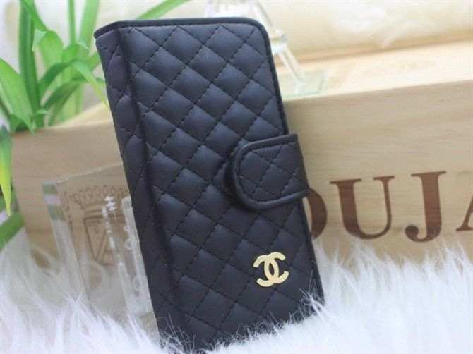 Chanel leather wallet iphone case   My Style   Pinterest