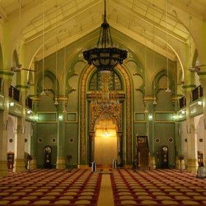 Interior da Mesquita do Sultão
