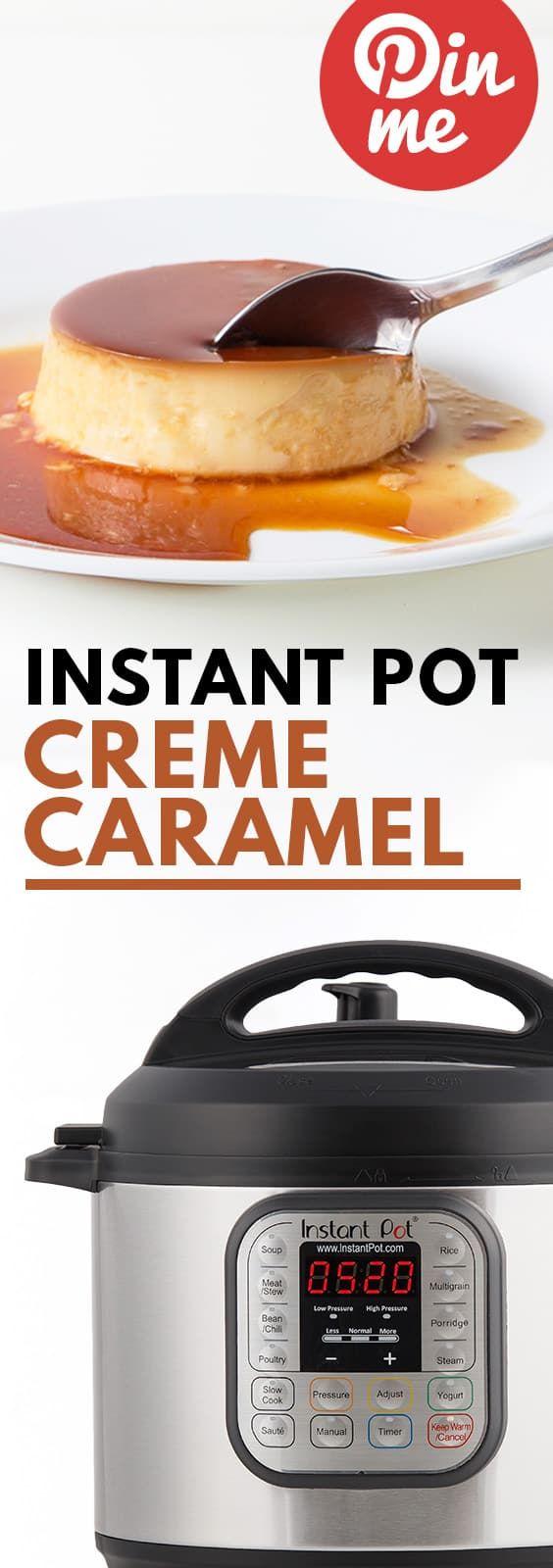 Instant Pot Flan (Crème Caramel)