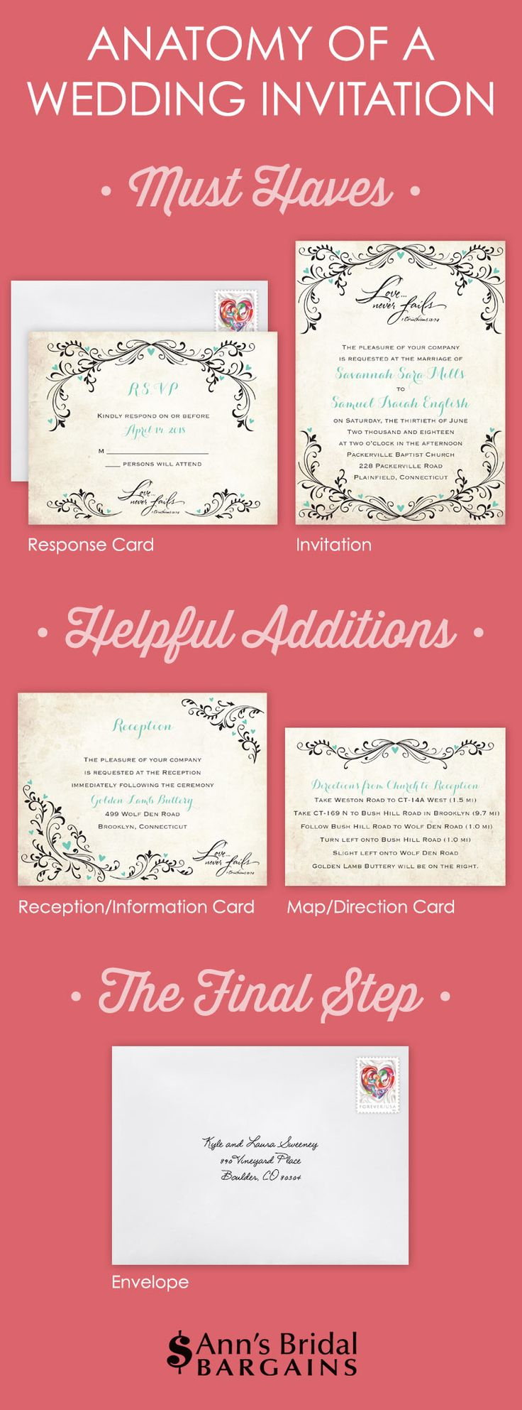 Fancy Wedding Invitation Protocol Embellishment - Invitations and ...