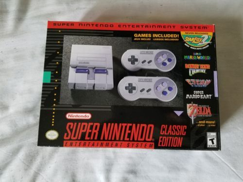 Super Nintendo Entertainment System: Super NES Classic Edition NEW | eBay