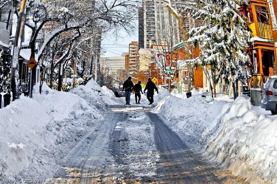 Ottawa in winter