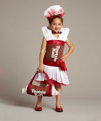 tootsie roll® girls costume - exclusively ours - You'll rock in this fabulous Tootsie Roll costume!