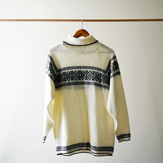 Made By Mee + Co | Cream Snowflake Jumper