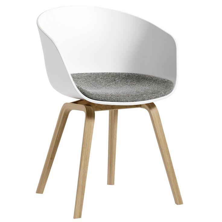 About a Chair AAC22 stoel met vast zitkussen | Hay