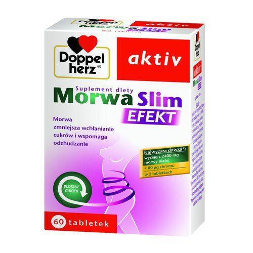 Doppelherz aktiv Morwa Slim Efekt, tabletki, 60 szt