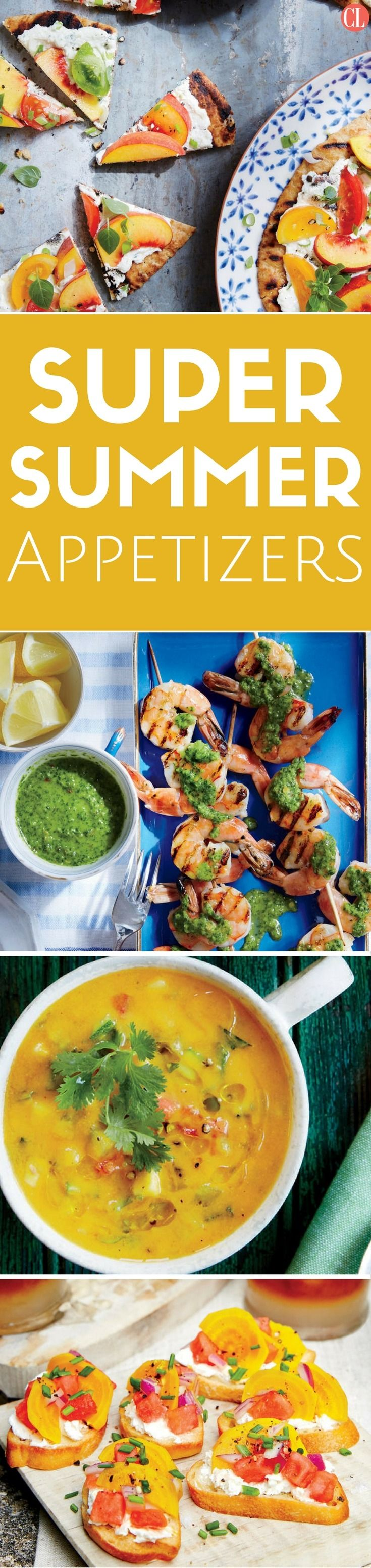 From jalapeño poppers and quesadillas to tasty dips and salsas, start your meal off right with summer appetizers featuring fresh, flavorful produce. | Cooking Light