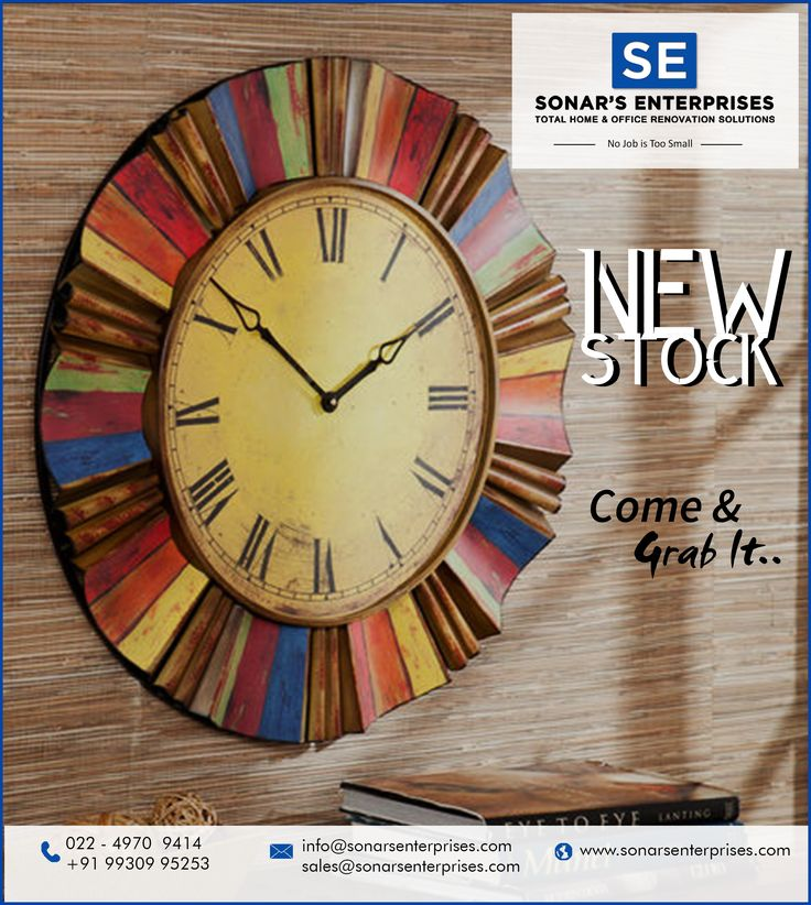 Decorate your home or offices to welcome the season of festivity. Come on and grab fast from the latest stock arrivals only at Sonar's Enterprises @ Vashi ,Navi Mumbai #newstock #refurbishedofficefurniture #decorativepieces #wallclock #homefurniture #Office #furniture #outlet #Refurbished #furniture #officefurniture #startupfurniture #corporatefurniture #officeappliances #sonarsenterprises
