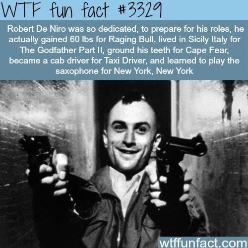 The best actor in the world - WTF fun facts