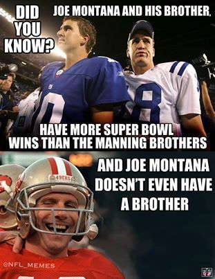 Did you Know??? 49ers Joe Montana