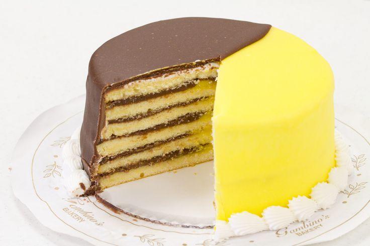 Gambinos Lemon Doberge Cake Recipe