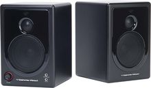 Cerwin Vega - 2.0 Powered Desktop Speaker (2-Piece) - Black