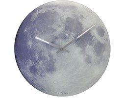NeXtime Playing Time - Zegar ścienny - Blue Moon - 8634