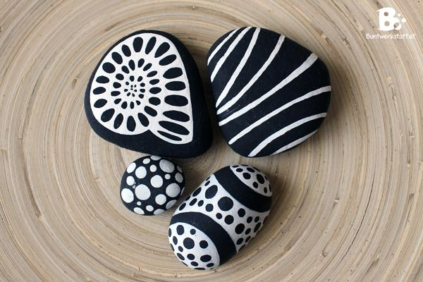 best 25 painted pebbles ideas on pinterest painted. Black Bedroom Furniture Sets. Home Design Ideas