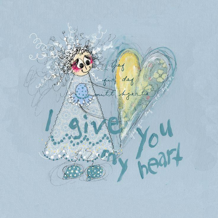 I give you my heart. www.kjerstimunkejordlamb.no