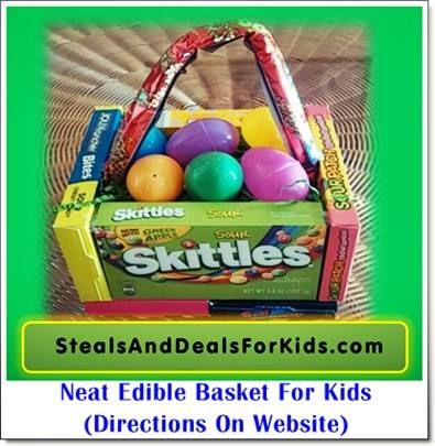 76 best easter images on pinterest edible easter basket or gift basket great for any age negle Gallery