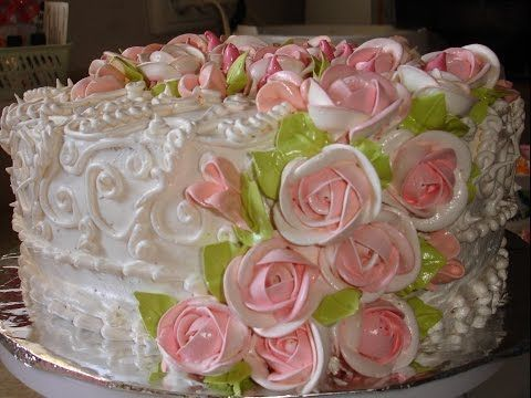 украшение тортов