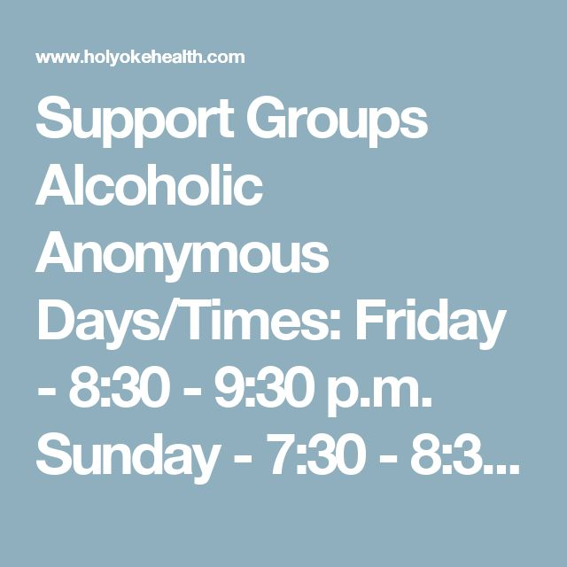 Effectiveness of Alcoholics Anonymous