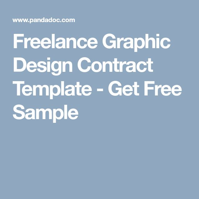 Freelance Graphic Design Contract Template - Get Free Sample