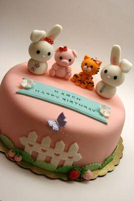 Beautiful Kitchen: Safari Animal Cake