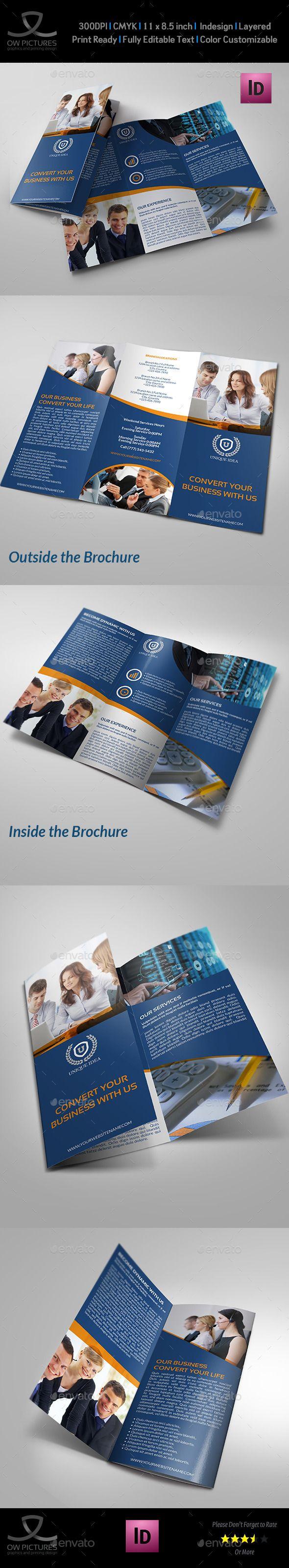 79 best Brochure Tri-Fold images on Pinterest   Tri fold brochure ...