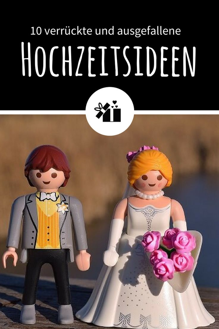seltsame Hochzeitsideen