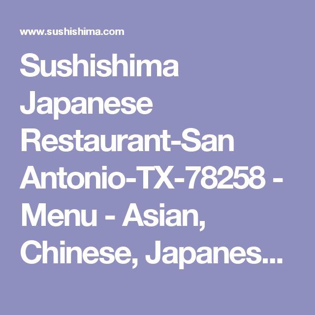 Sushishima Japanese Restaurant-San Antonio-TX-78258 - Menu - Asian, Chinese, Japanese - Online Food in Sushishima Japanese Restaurant With Coupon | Discount