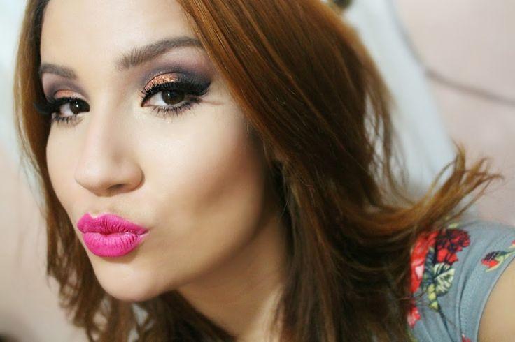 CLICK E APRENDA - Maquiagem usando produtos BBB (com bonito e barato!) - Por Bianca Andrade. SÓ CLICAR NA IMAGEM PARA VER TUTORIAL EM VÍDEO ! #make #maquiagem