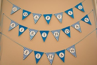 HAPPY BIRTHDAY Bunting Banner {Free Printable}