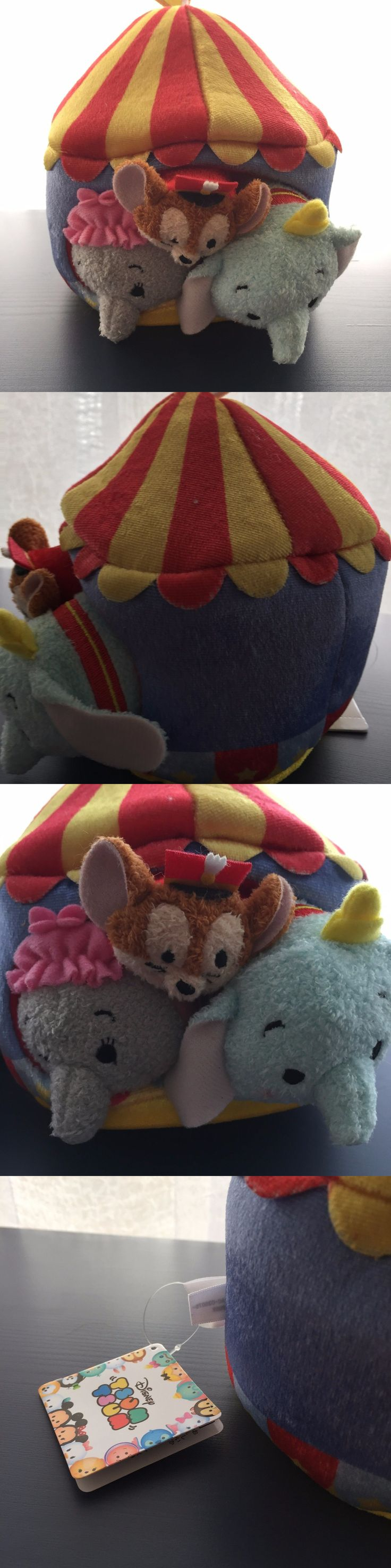 collectibles: Disney Japan Tsum Tsum Dumbo Circus Set Of 3 New Tags -> BUY IT NOW ONLY: $43.5 on eBay!