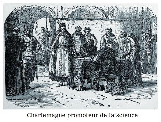 Charlemagne promoteur de la science | albumimag