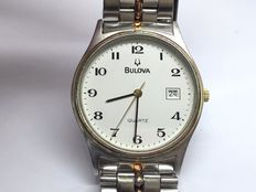 Bulova 1327 – Swiss gents' quartz wrist watch – c.2000