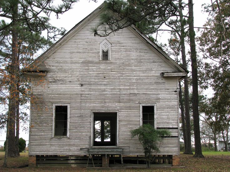 Tattnall County GA Abandoned Old Country Church Rural ...